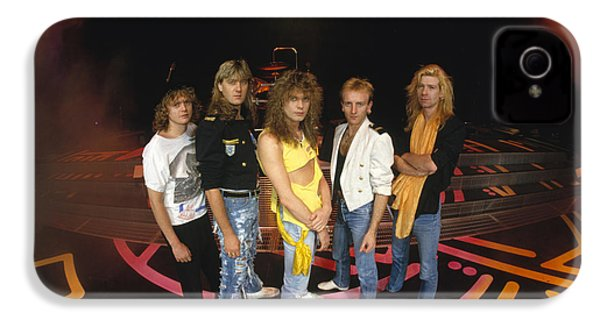 Def Leppard - Round Stage 1987 IPhone 4 / 4s Case by Epic Rights