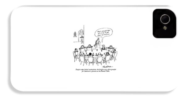 Despite Some Initial Reservations IPhone 4 Case by J.B. Handelsman
