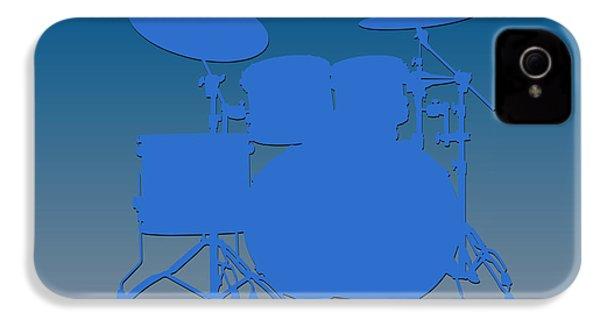 Detroit Lions Drum Set IPhone 4 Case by Joe Hamilton