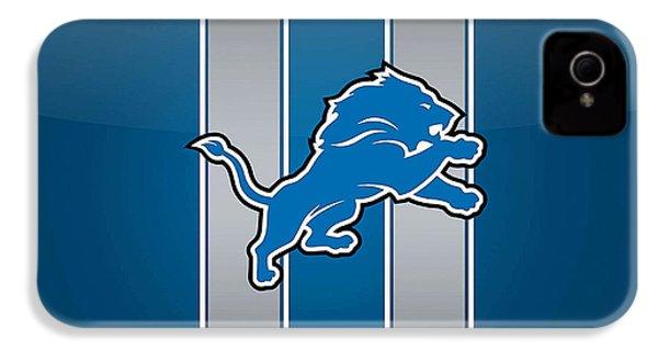 Detroit Lions IPhone 4 Case by Marvin Blaine