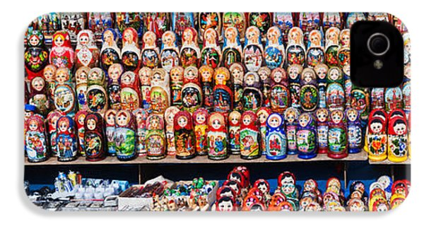 Display Of The Russian Nesting Dolls IPhone 4 Case by Panoramic Images