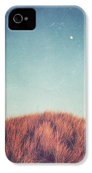 Distant Moon IPhone 4 Case by Lupen  Grainne