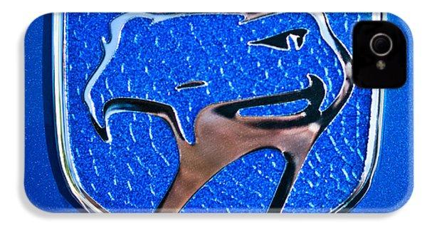 Dodge Viper Emblem -217c IPhone 4 Case by Jill Reger