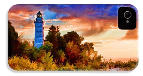 Door County Cana Island Wisp IPhone 4 Case by Christopher Arndt