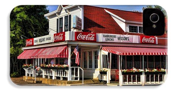 Door County Wilson's Ice Cream Store IPhone 4 Case by Christopher Arndt