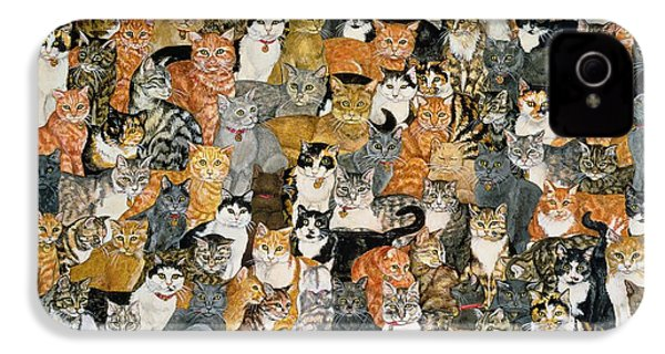 Double Cat Spread IPhone 4 Case