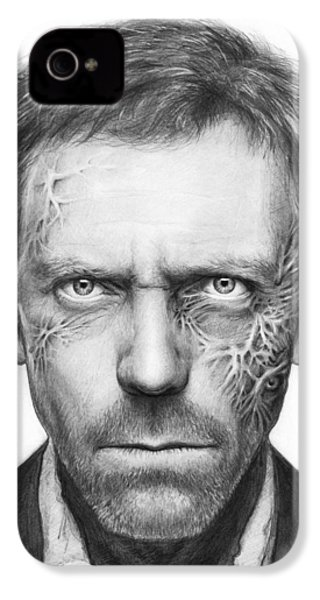 Dr. Gregory House - House Md IPhone 4 / 4s Case by Olga Shvartsur