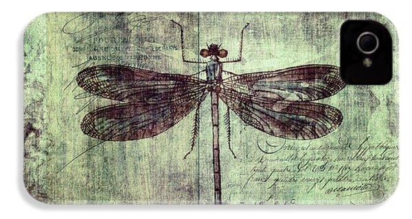 Dragonfly IPhone 4 / 4s Case by Priska Wettstein