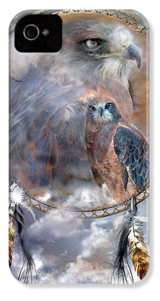 Dream Catcher - Hawk Spirit IPhone 4 Case