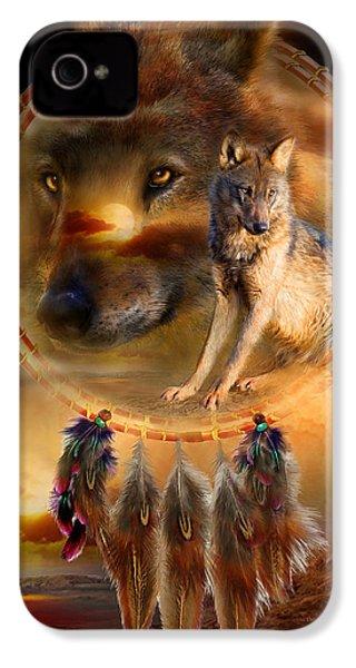 Dream Catcher - Wolfland IPhone 4 Case