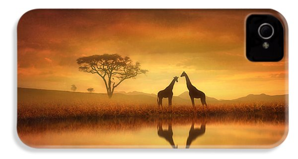 Dreaming Of Africa IPhone 4 / 4s Case by Jennifer Woodward