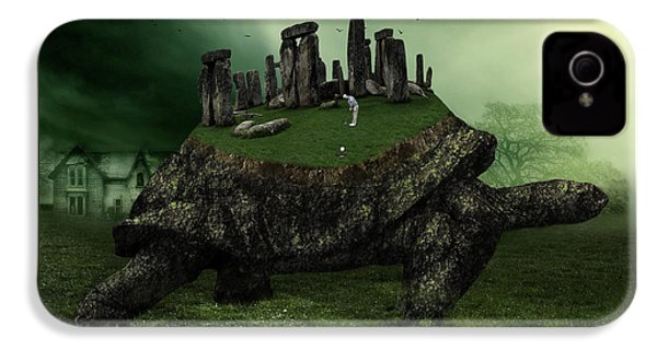 Druid Golf IPhone 4 Case by Marian Voicu