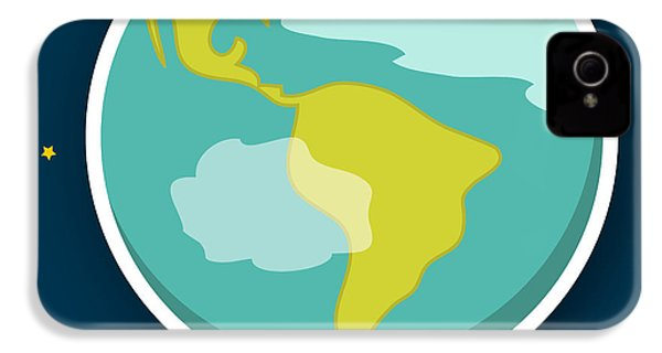 Earth IPhone 4 Case by Christy Beckwith