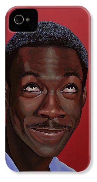 Eddie Murphy Painting IPhone 4 Case
