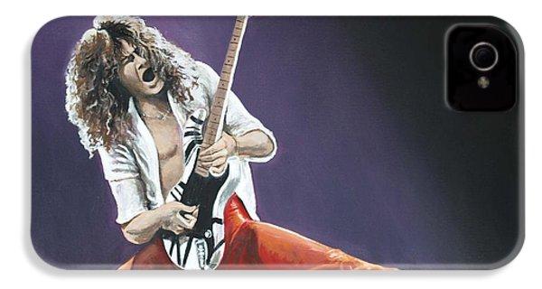 Eddie Van Halen IPhone 4 Case by Tom Carlton