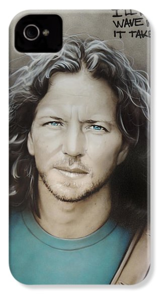' Eddie Vedder ' IPhone 4 Case