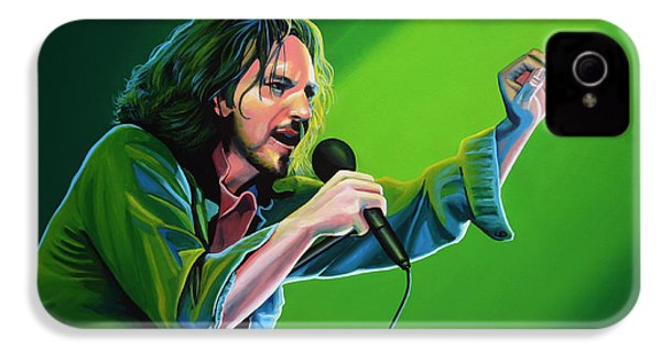 Eddie Vedder Of Pearl Jam IPhone 4 Case