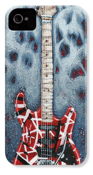 Eddie's Frankenstrat IPhone 4 Case by Arturo Vilmenay