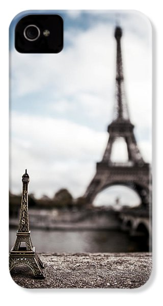 Eiffel Trinket IPhone 4 Case by Ryan Wyckoff