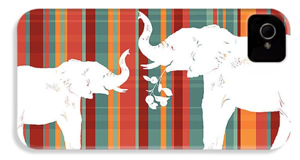 Elephants Share IPhone 4 Case
