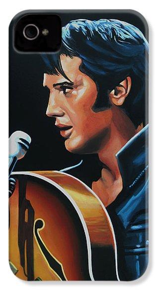Elvis Presley 3 Painting IPhone 4 Case