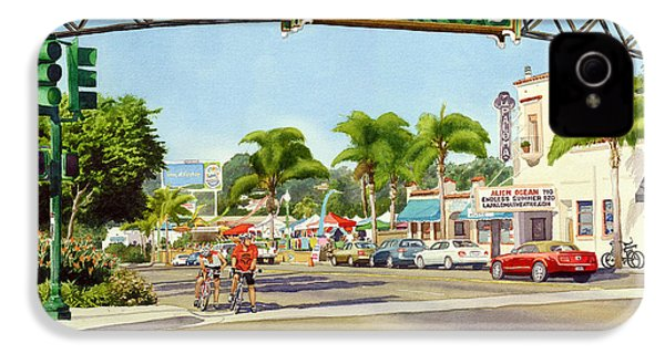 Encinitas California IPhone 4 Case by Mary Helmreich