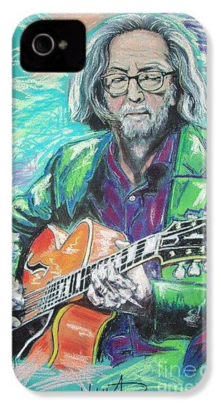 Eric Clapton IPhone 4 / 4s Case by Melanie D