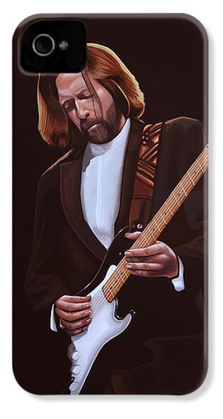 Eric Clapton Painting IPhone 4 Case