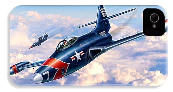 F9f-5p Photo Panthers IPhone 4 / 4s Case by Stu Shepherd