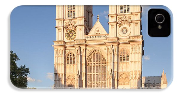 Facade Of A Cathedral, Westminster IPhone 4 Case by Panoramic Images
