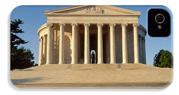 Facade Of A Memorial, Jefferson IPhone 4 Case by Panoramic Images