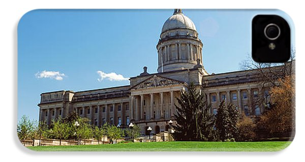 Facade Of State Capitol Building IPhone 4 Case by Panoramic Images