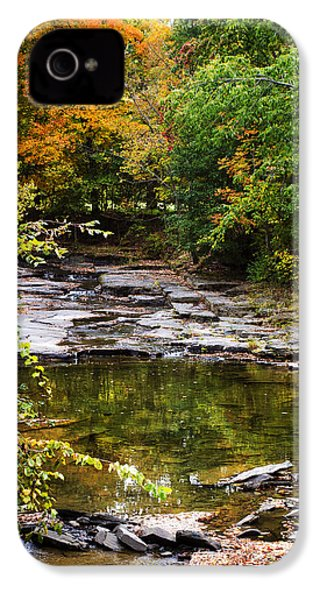 Fall Creek IPhone 4 Case by Christina Rollo