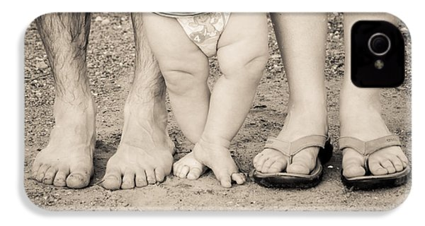 Family Feets IPhone 4 Case by Bill Pevlor