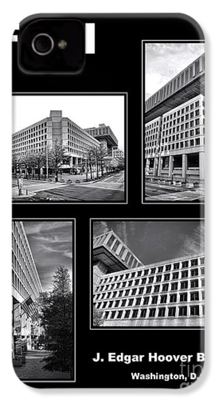 Fbi Poster IPhone 4 Case by Olivier Le Queinec