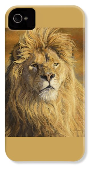 Fearless - Detail IPhone 4 Case by Lucie Bilodeau