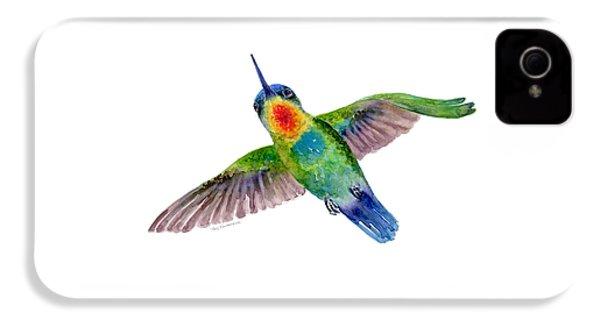 Fiery-throated Hummingbird IPhone 4 / 4s Case by Amy Kirkpatrick
