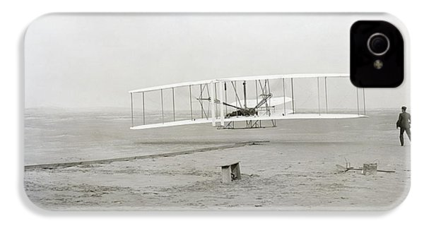 First Flight Captured On Glass Negative - 1903 IPhone 4 / 4s Case by Daniel Hagerman