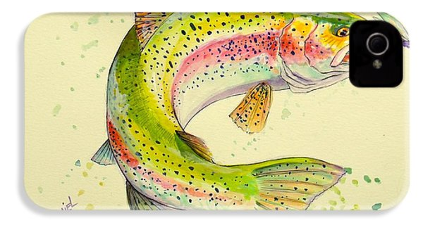 Fish After Dragon IPhone 4 Case by Yusniel Santos