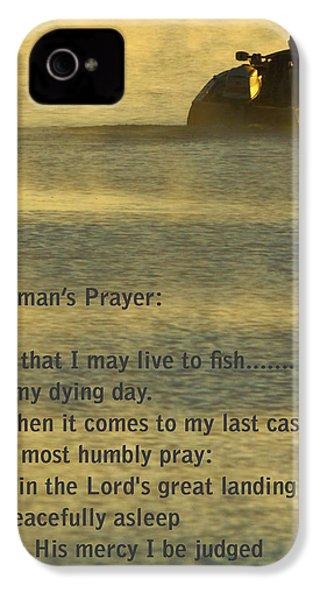 Fisherman's Prayer IPhone 4 Case