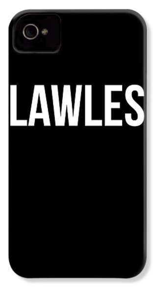 Flawless Poster IPhone 4 / 4s Case by Naxart Studio