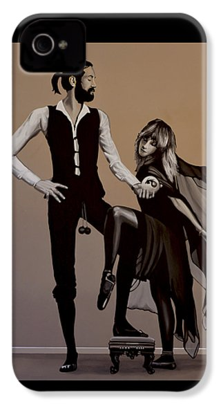 Fleetwood Mac Rumours IPhone 4 Case by Paul Meijering