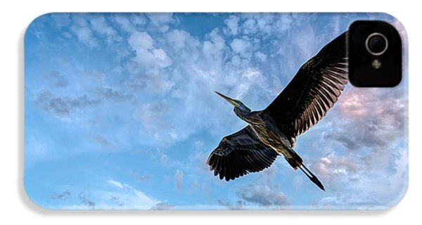Flight Of The Heron IPhone 4 Case by Bob Orsillo