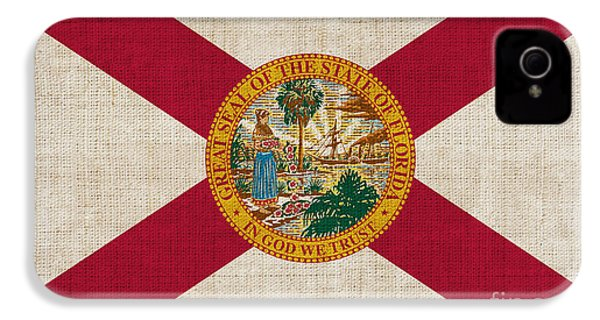 Florida State Flag IPhone 4 Case by Pixel Chimp