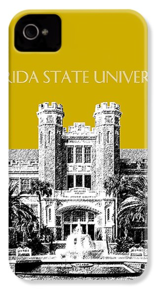Florida State University - Gold IPhone 4 Case by DB Artist