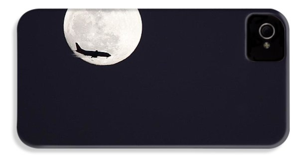 IPhone 4 Case featuring the photograph Fly Me To The Moon by Nathan Rupert