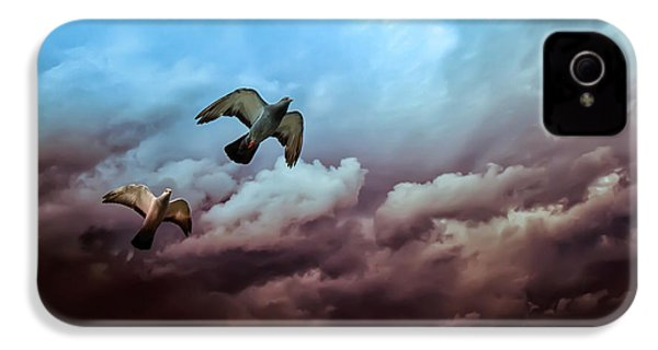 Flying Before The Storm IPhone 4 Case by Bob Orsillo
