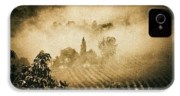IPhone 4 Case featuring the photograph Foggy Tuscany by Silvia Ganora