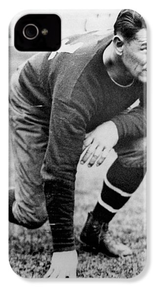 Football Player Jim Thorpe IPhone 4 / 4s Case by Underwood Archives
