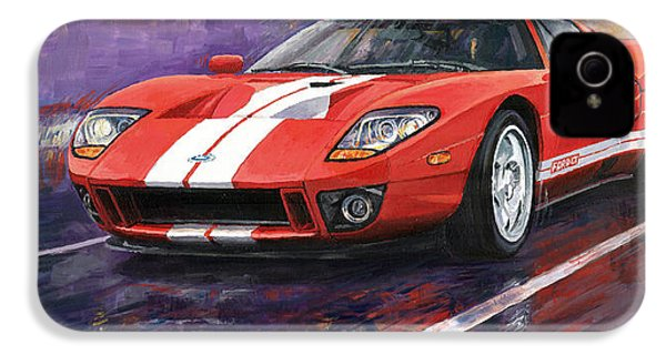 Ford Gt 2005 IPhone 4 Case by Yuriy  Shevchuk